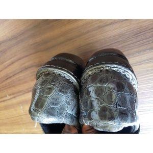 boc Shoes - BOC Born Concepts Clogs patent leather Crocodile